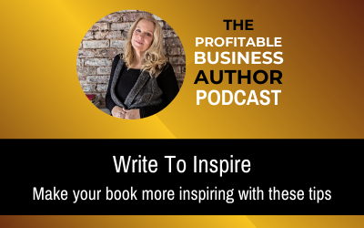 Write To Inspire–Audio Series
