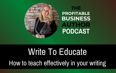 Write To Educate–Audio Series