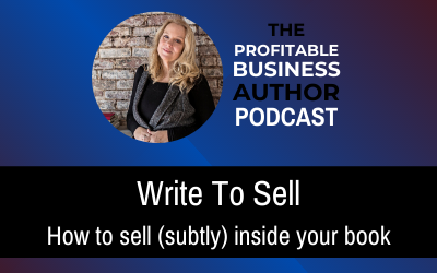 Write To Sell–Audio Series