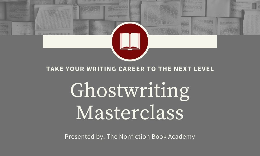 ghostwriting masterclass from nonfiction book academy